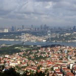 panoramă de pe Çamlıca